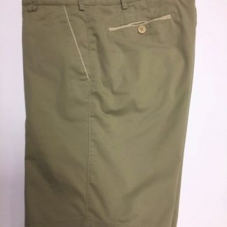 Meyer Organic Cotton Shorts Khaki