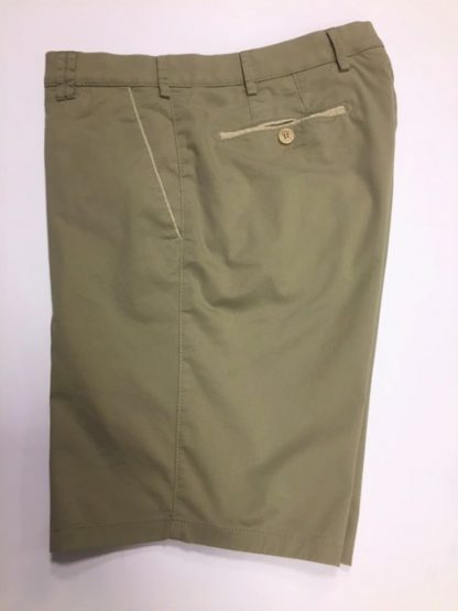 Meyer Organic Cotton Shorts Khaki