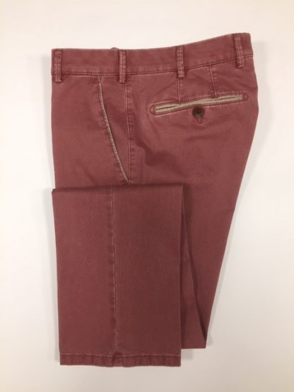 Meyer Organic Cotton Trousers Brick