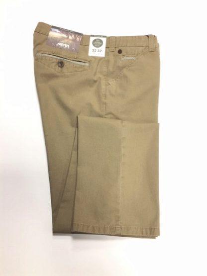 Meyer Stripe Trousers Fawn