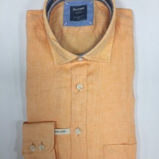 Olymp Linen Shirt Peach