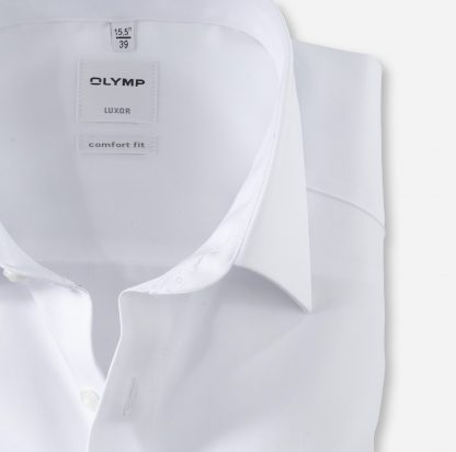 02546400 Olymp Comfort Fit Shirt White