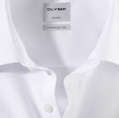 02656500 Olymp Comfort Fit Double Cuff White