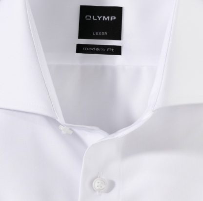 03336500 Olymp Double Cuff Modern Fit White