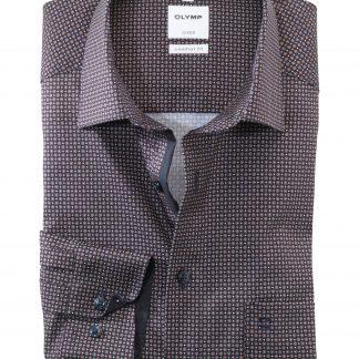11047428 Olymp Comfort Fit Shirt Tan