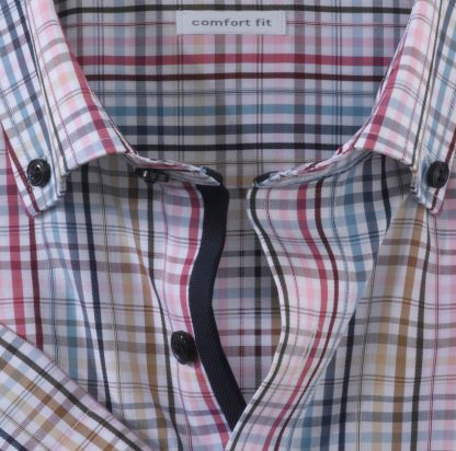 11147230 Olymp Short Sleeve Burgundy