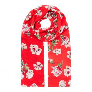 213661_REDFLRL Joules Conway Floral Scarf