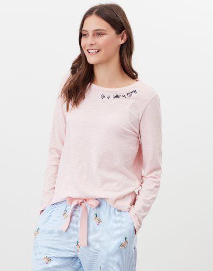 214956_PINKMARL Joules Pyjama Top