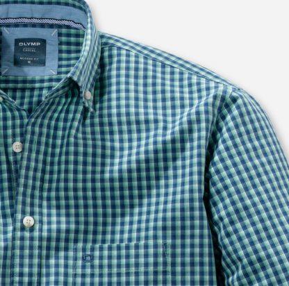 41067440 Olymp Casual Shirt Green