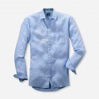 41267410 Olymp Linen Stripe Shirt
