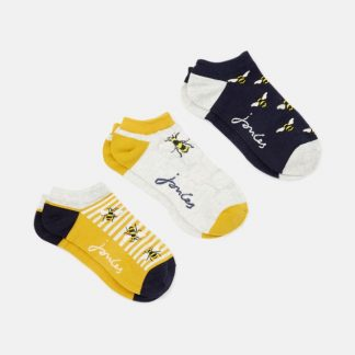 Joules Bamboo Bee Trainer Socks