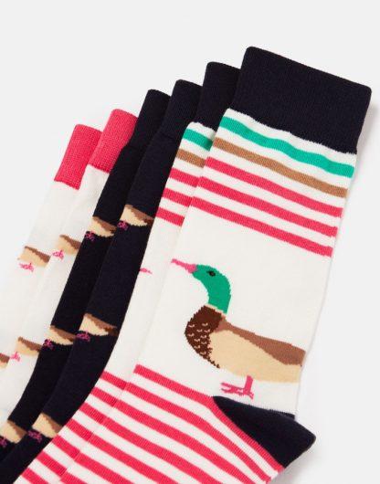 Joules Bamboo Duck Socks