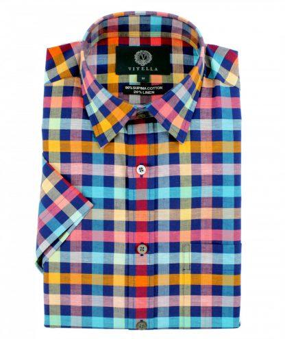 Viyella Cotton-Linen Shirt
