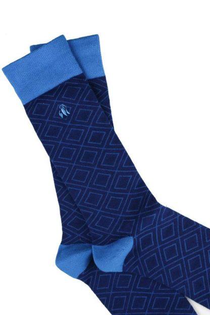 socks-blue-diamond-bamboo-socks