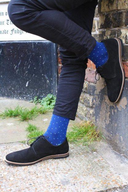 socks-spotted-sky-blue-bamboo-socks