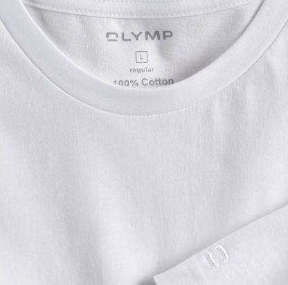 07001200 Olymp Round Neck T-Shirt White