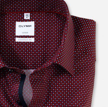 11047435 Olymp Print Shirt Red