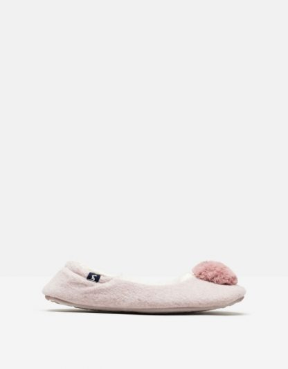 Joules Pombury Ballet Slippers Dusty Rose