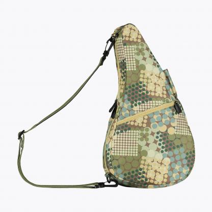 6133 Reversible Healthy Back Bag Circle Print