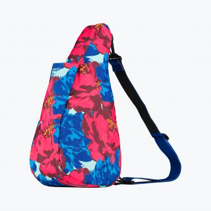 6133 Reversible Healthy Back Bag Hyper Floral Royal