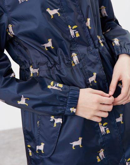214871_NAVYDOGS Joules Golightly Waterproof Packable Jacket