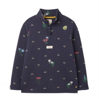 215066_NAVYPOLLEN Joules Pip Half Zip Sweatshirt