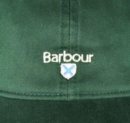 MHA0274GN35 Barbour Cascade Sports Cap Racing Green