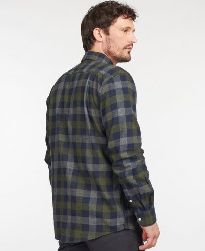 MSH4985NY91 Barbour Westoe Reg Fit Shirt Navy