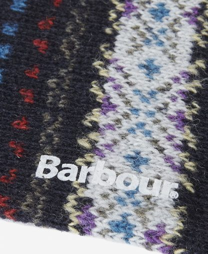 MSO0062NY51 Barbour Boyd Socks Navy