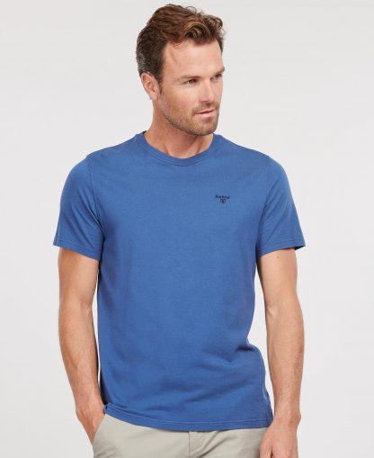 MTS0331BL57 Barbour Sports T-Shirt Loch Blue
