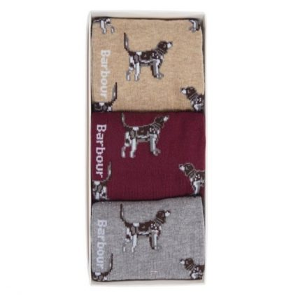 MGS0037RE89 Barbour Dog Pointer Gift Set