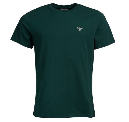 MTS0331GN73 Barbour Sports T-Shirt Seaweed