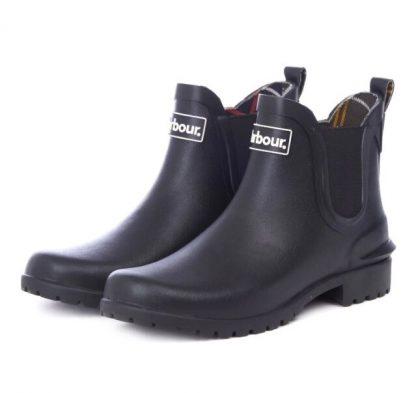 LRF0066BK11 Barbour Wilton Chelsea Boots Black