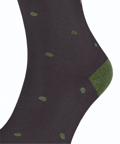 13269-8494 Falke Dot Socks Dewberry