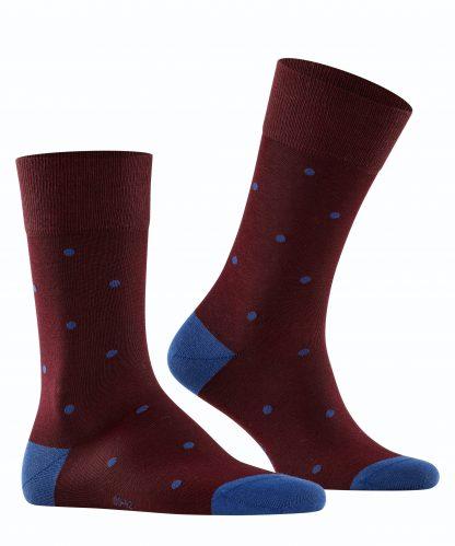 13269-8596 Falke Dot Socks Barolo