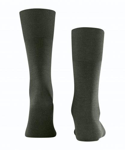 14435-7155 Falke Airport Socks Green Melange