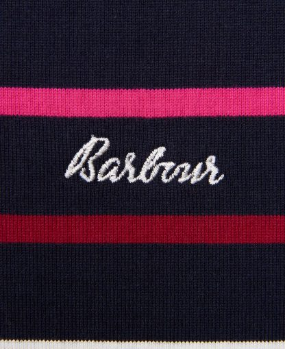LML0739NY74 Barbour Hawkins Top Navy Stripe