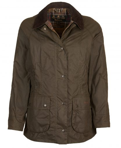 LWX0668OL71 Barbour Classic Beadnell Wax Jacket