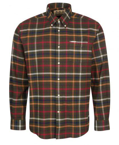 MSH4983OL51 Barbour Hadlo Shirt