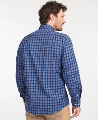 MSH5003BL33 Barbour Lowfell Regular Fit Shirt