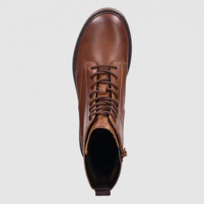432-A4630-1200 6300 Bugattis Short Boots Cognac