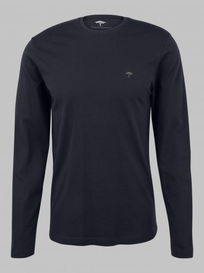 12211510-685 Fynch-Hatton Long Sleeve T-Shirt Navy