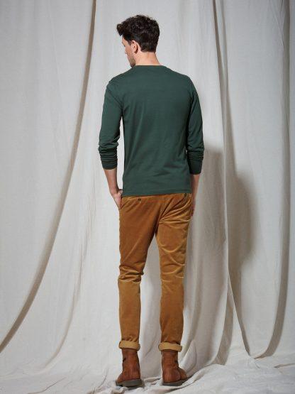 12211510-746 Fynch-Hatton Long Sleeve T-Shirt Emerald