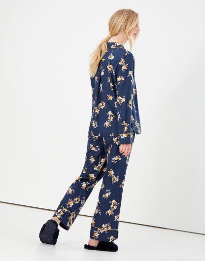 214578_NAVPOSY Joules Sleeptight Pyjama Set Navy Posy