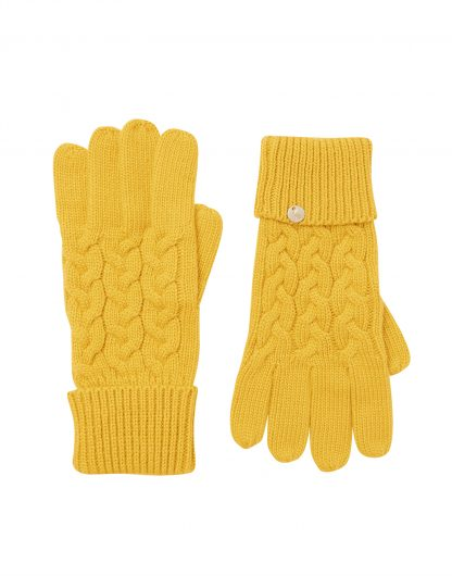 214651_ANTGOLD Joules Elna Cable Gloves Gold