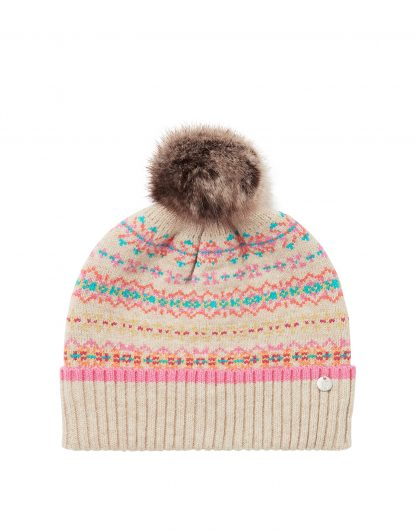 215314_FAIRISL Joules Christina Hat Pink