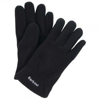 Barbour Coalford Fleece Gloves Black