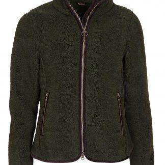 LFL0056SG71 Barbour Lavenham Fleece Olive