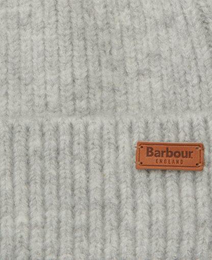LHA0455GY11 Barbour Chilton Beanie Light Grey