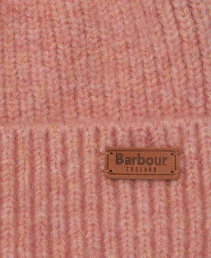 LHA0455PI11 Barbour Chilton Beanie Pink